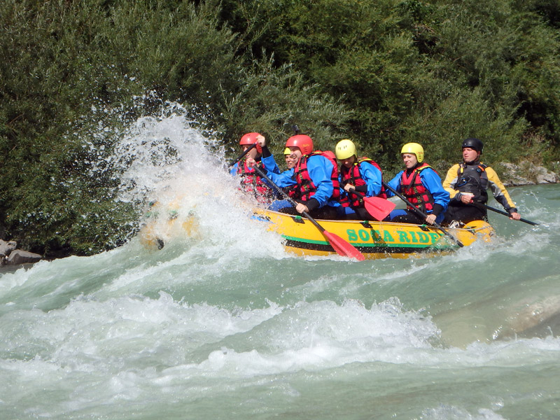 World class raftings on river rafting Slovenia