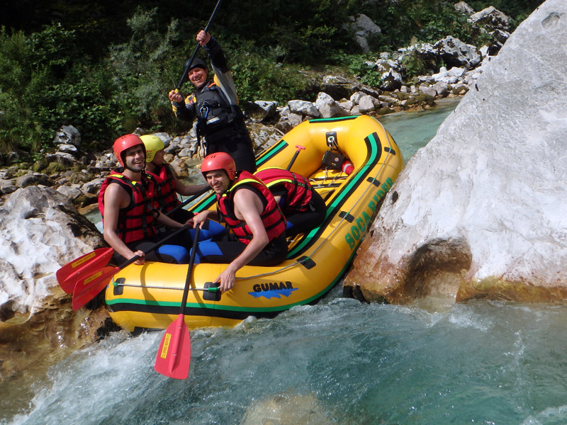 White water rafting Bovec with Rafting Slovenia