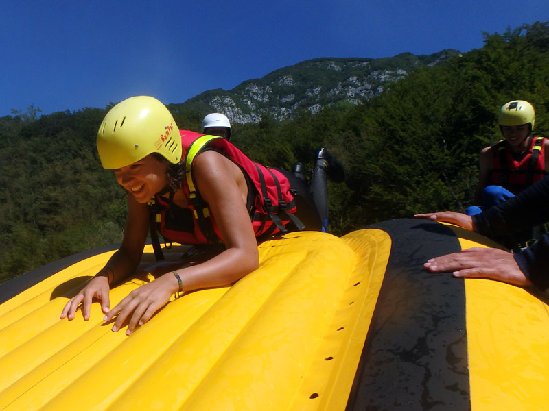 Full day rafting tour on Soca river